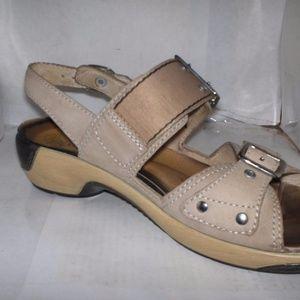 426ff43ec Waldlaufer Shoes - WALDLAUFER WOMENS BEIGE NUBUCK LEATHER OPEN TOE SA